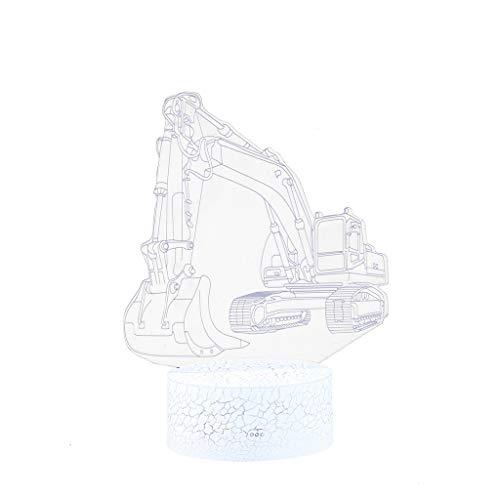 Hunputa Toy Train Night Light for Kids LED Table Lamp 3D Ill