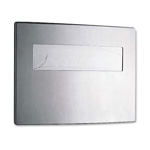 Bobrick Contura Toilet Seat Cover Dispenser 4221 Stainless Steel