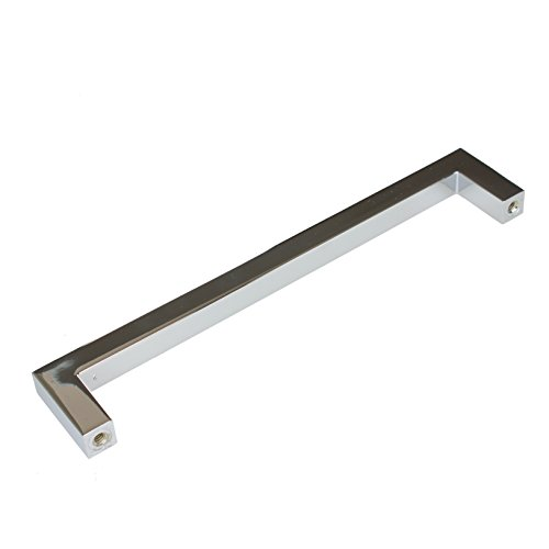 GlideRite Hardware 21683-160-PC-50 Solid Square Slim Cabinet Bar Pulls, 50 Pack, 6.25'', Polished Chrome by GlideRite Hardware (Image #1)