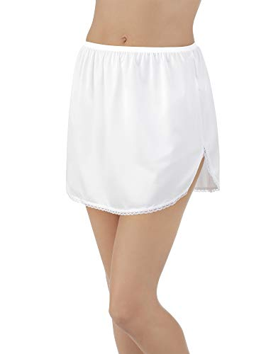 Vanity Fair Women's 360° Half Slip 11760, Star White, X-Large (20