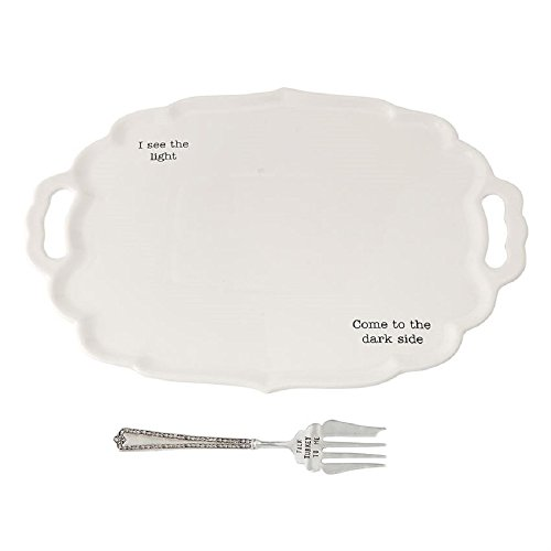 Dark/Light Turkey Platter Set, 14