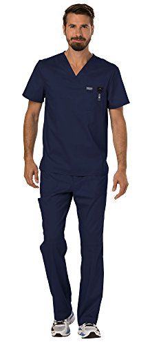 Where to find mens scrubs sets with pockets cherokee?