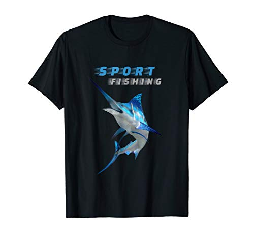 Deep Sea Fishing Tshirt - Marlin Sport Fishing Shirt