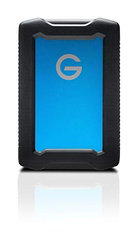 G-Technology 1TB ArmorATD All-Terrain Rugged Portable External Hard Drive - USB-C, Thunderbolt 3, USB 3.0 - 0G10433-1 (Best 1tb Portable Hard Drive 2019)