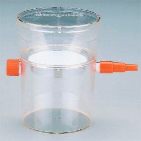 Corning Disposable 115mL Sterile Vacuum Filter Unit, Membrane: CA; Corning Costar No.: 430945; Pore Size: 0.45micrometer by Fisher Scientific