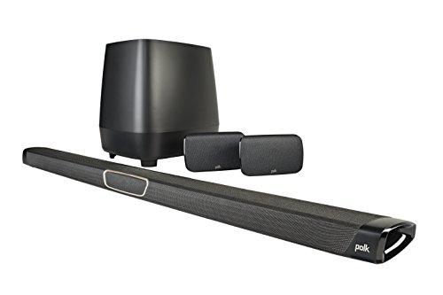 Polk Audio MagniFi MAX SR 5.1canales 400W Negro Sistema de Cine en casa – Equipo de Home Cinema (No se Incluye, 5.1…