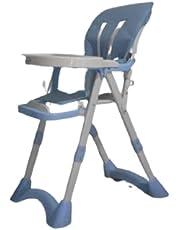 كرسي طعام للاطفال لون ازرق
