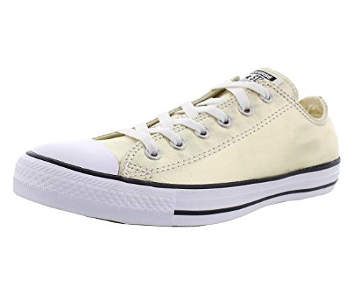 (Converse Unisex Chuck Taylor All Star Ox Low Top Classic Gold/White/Black Sneakers - 8 B(M) US Women / 6 D(M) US Men )
