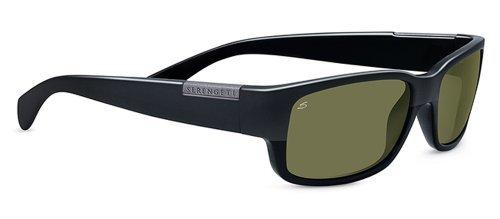 - Serengeti Classic Coll. Merano Sunglasses Frame 7995 Shiny/matte Black New