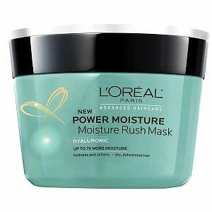 Net 250ml (L'Oréal Paris Advanced Haircare - Power Moisture Moisture Rush Mask - Net Wt. 8.5 FL OZ (250 mL) - Pack of 2)