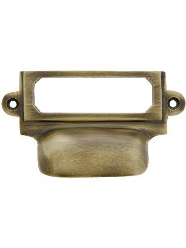 (House of Antique Hardware R-08DE-CLHP-AB Cast Brass 3 5/8