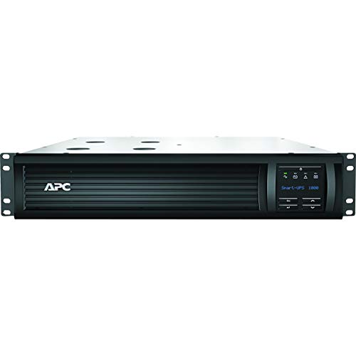 APC MAIN-199985 Smart-UPS RM SMT1000RM2U 700W/1000VA 120V 2U Rackmount LCD UPS System ()