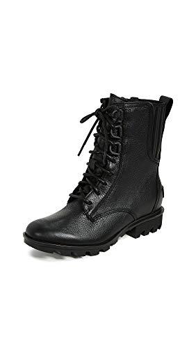 Sorel Women's Phoenix Lace Boots, Black, 5.5 M US