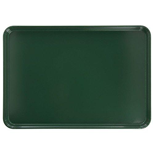 Cambro Camtray Rectangular Sherwood Green Fiberglass Tray - 26