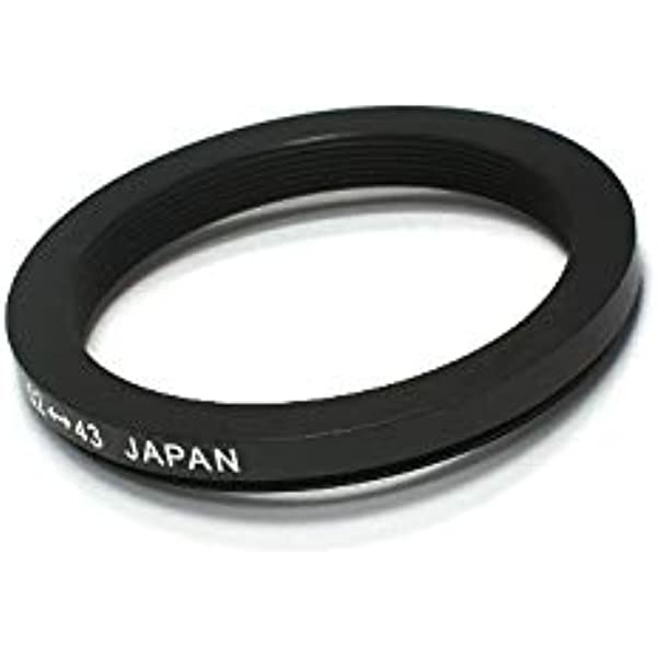 52mm Lens to 43mm Accessory Pixco 52-42mm Step-Down Metal Adapter Ring