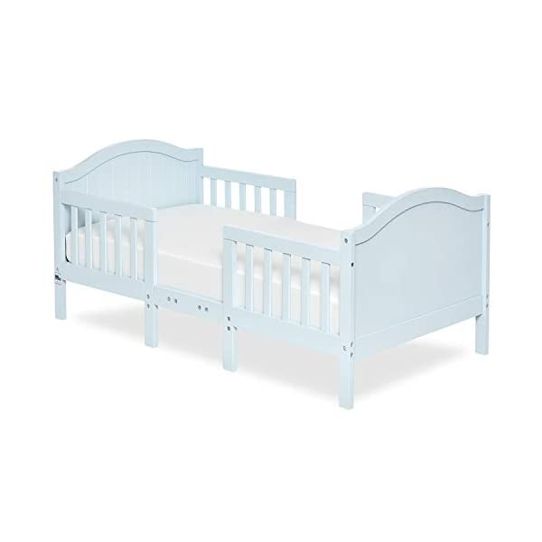 Dream On Me Portland 3 In 1 Convertible Toddler Bed, Sky Blue
