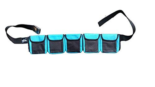 - SCUBA DIVING POCKET WEIGHT BELTS (Blue, Medium 5 pocket)