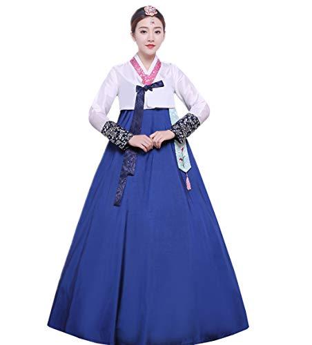 XINFU Women Korean Traditional Long Sleeve Hanboks