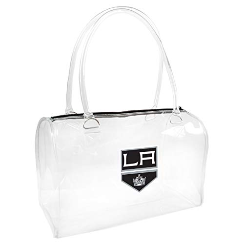 NHL Los Angeles Kings Clear Bowler Handbag