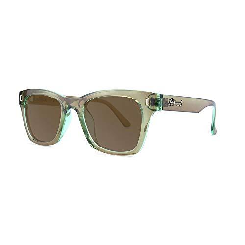 Knockaround Seventy Nines Polarized Sunglasses With Translucent Sage Frames/Amber ()