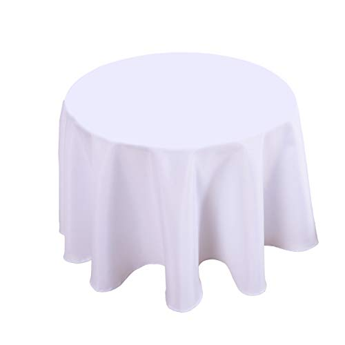 Biscaynebay Fabric Table Cloth, Water Resistant Spill Proof Tablecloths for Dining, Kitchen, Wedding and Parties (60