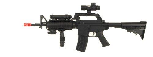 M-16 A4 AIRSOFT ASSAULT RIFLE GUN paintball pellet M16 (Pellet Gun Paintball)