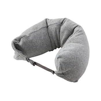 Amazon Com Travel Inflatable Pillow Ultra Soft Velvet