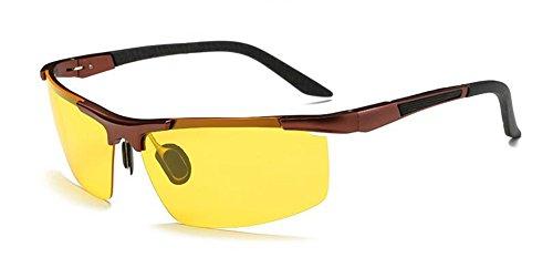 inspirées retro Lennon métallique en lunettes du vintage Cadre rond cercle Cuivre polarisées de soleil en style ACWAxnqtYP