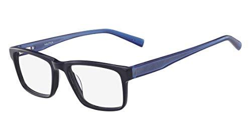 Óculos Nautica N8126 414 Azul Lente Tam 53