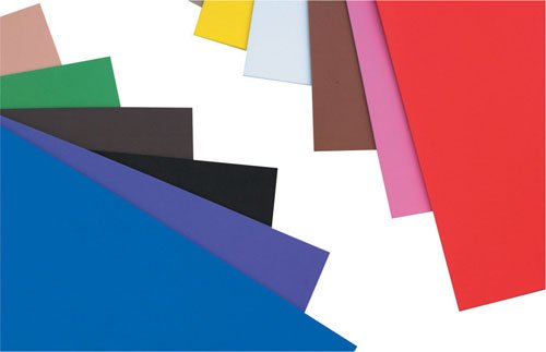 Creation Station Craft Foam Sheets A4, Pack of 10, Assorted Colours Artstraws CS1020