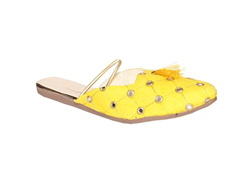 INDCROWN INDCROWN Donna Balletto Balletto Yellow 56nU67