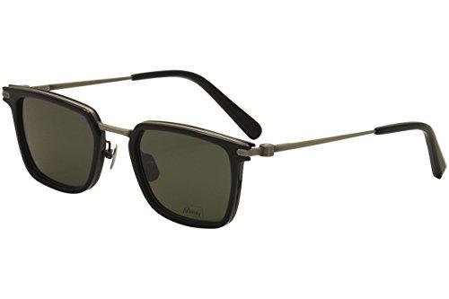 Sunglasses Brioni BR0010S BR 0010 10S S 10 001 BLACK / GREEN / - Brioni Sunglasses