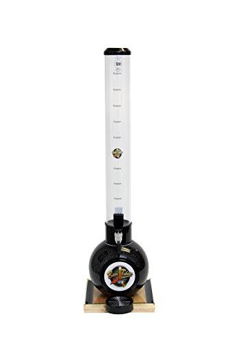 Beer Tubes BOW-32-R Beverage Dispenser with Regular Tap, Bowling Ball Base, 100 oz., Black by Beer Tubes