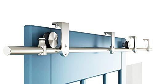 ceiling mount barn door hardware - 7