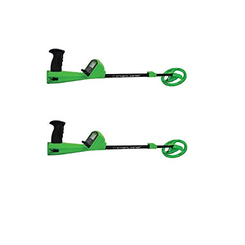 Best Wildgame Innovations Kids Adjustable Analog Metal Coin Detector, Green (2 Pack)