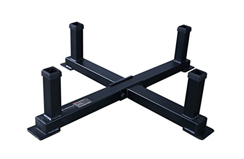 Powertec Fitness Workbench Accessory Rack Black by Powertec Fitness