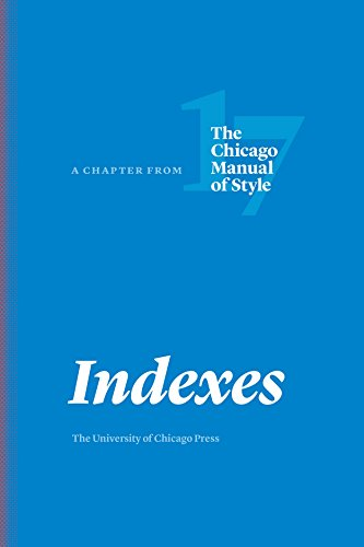 Style Index - Indexes: A Chapter from The Chicago Manual of Style, Seventeenth Edition