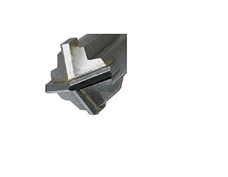 Werkon Profesional Broca de mamposter/ía SDS Plus 25 x 260 mm Martillo Hormig/ón Marco X Corte Cu/ádruple Cruz