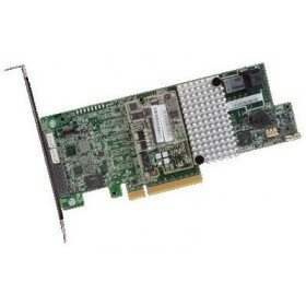 LSI MegaRAID SAS 9361-4i 4-Port 12Gb/s SAS+SATA PCI-Express 3.0 Low Profile RAID Controller, Single by LSI