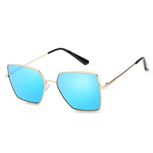 Aoligei Femmes et hommes élégants polarisé personnalité lunettes de soleil lunettes de soleil tendances mode D