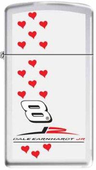 Zippo Dale Earnhardt Jr. Slim Lighter w/Hearts