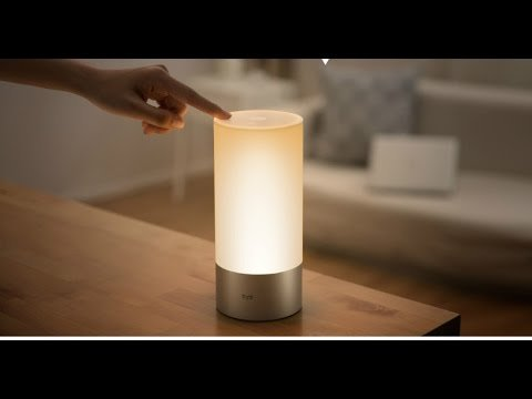 Xiaomi-Yeelight-Indoor-Night-Light-Dimmable-Bed-Lamp-16-Million-RGB-Touch-Control-WHITE