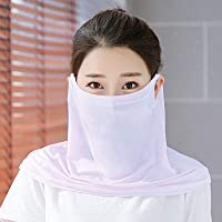 MOCHOEL Summer Neck Gaiter,Scarf Sun Dust Protection Face Mask UPF 50+UV Block Protective Cool Ice Silk Breathable…