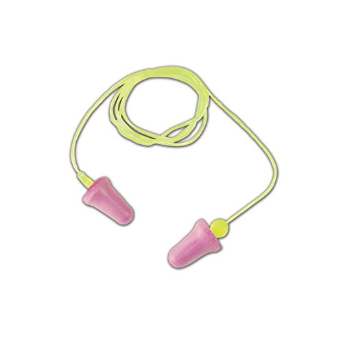 Peltor by 3M 10093045980151 3M P2001 Pelt or Next No-Touch Corded Earplugs, OSFA, Yellow, One Size Fits All (Pack of 100) by Peltor by 3M (Image #1)
