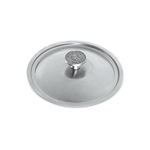 Nordic Ware Restaurant 8 inch Brushed Stainless-Steel Lid