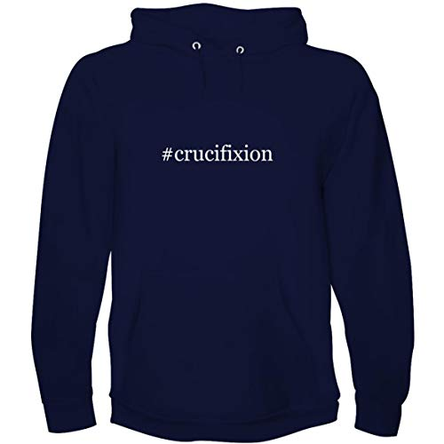 The Town Butler #Crucifixion - Men's Hoodie Sweatshirt, Navy, X-Large