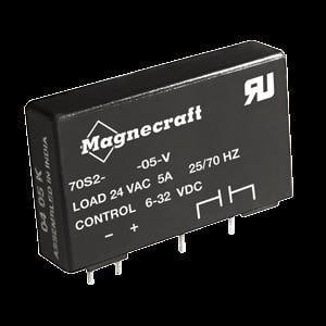 Solid State Relays - Industrial Mount 70S2-V SSR / Triac SPST-NO, 3 A, PCB