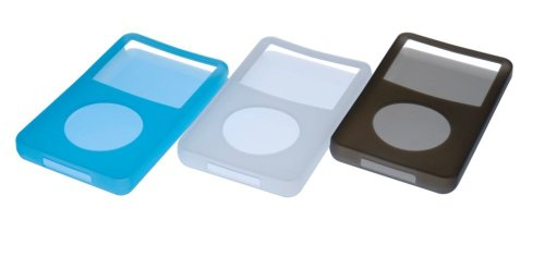 (Philips SJM3406 - Case for digital player - soft gel - iPod with video (5G) 60GB (pack of 3 ))