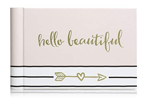[해외]Pearhead Hello Beautiful Brag Book A Perfect Gift for Expecting Parents or Addition to Baby Registry Pink / Pearhead Hello Beautiful Brag Book, A Perfect Gift for Expecting Parents, or Addition to Baby Registry, Pink