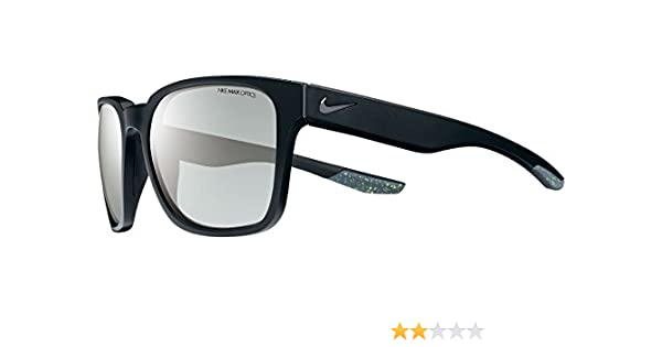 3b1b34dfbe Amazon.com: Nike EV0875-001 Recover R Sunglasses (One Size), Matte Black/Gunmetal,  Smoke with Super Silver Flash Lens: Sports & Outdoors